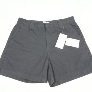Calvin Klein Size 10 Black Cotton Shorts #A4